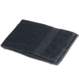 Toalla 40x80cm 100% algodon 380gr / m2 Negra