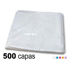 10 x Capa plástico antiestático 98x106cm - peinador un solo uso (50 unidades)