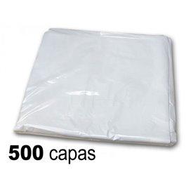 10 x Capa plástico antiestático 98x136cm - peinador un solo uso (50 unidades)