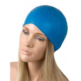 Gorro mechas flexible goma azul