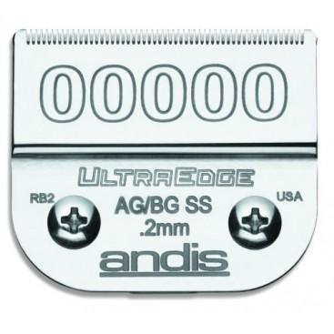 """Cuchillas Andis Ultraedge 0,2mm """"00000"""""""