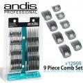 Peines soporte metal Andis (Pack 9u.)