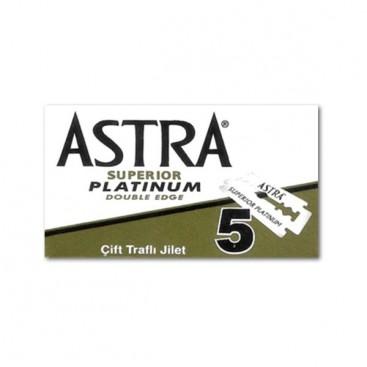 Hojas Astra, caja 5u.