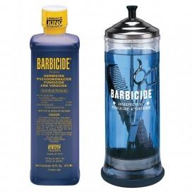 Kit inicial Barbicide. Jarra + Concentrado pequeño