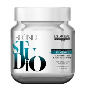 Pasta decolorante Blond Studio Platinum Plus sin amoniaco 500gr Loreal