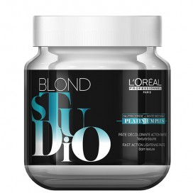 Pasta decolorante Blond Studio Platinum Plus 500gr Loreal