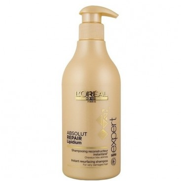 Champú Absolut Repair Lipidium 500ml Loreal
