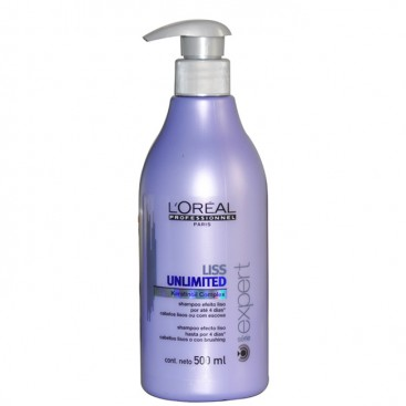 Champú Liss Unlimited 500ml Loreal