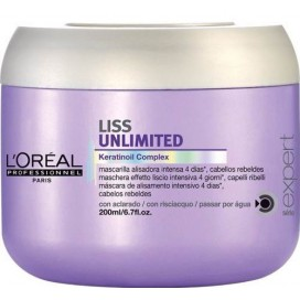 Mascarilla Liss Unlimited 200ml Loreal